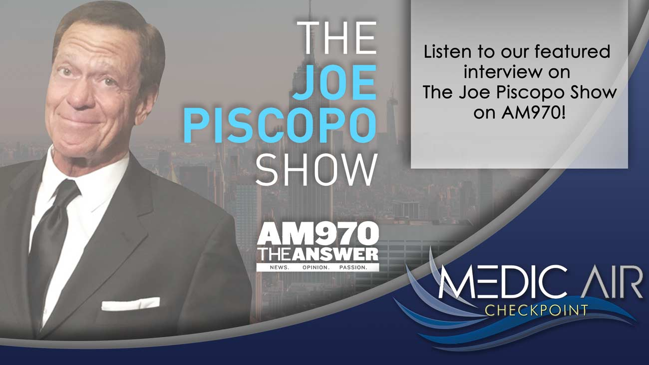 MedicAir Solutions on The Joe Piscopo Show